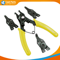 High quality ! 4 in 1 Multifunction Retaining Ring Pliers Circlip Pliers Removable Spring Clamp