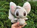 "100% Geniune Tomy Pokemon Плюшевые Куклы 8 ""Minccino Новый"
