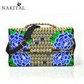 Women's Handbag Bag Envelope Bag 2017 Fashio Shoulder Lady's Embroidery Vintage Tote Bags For Women