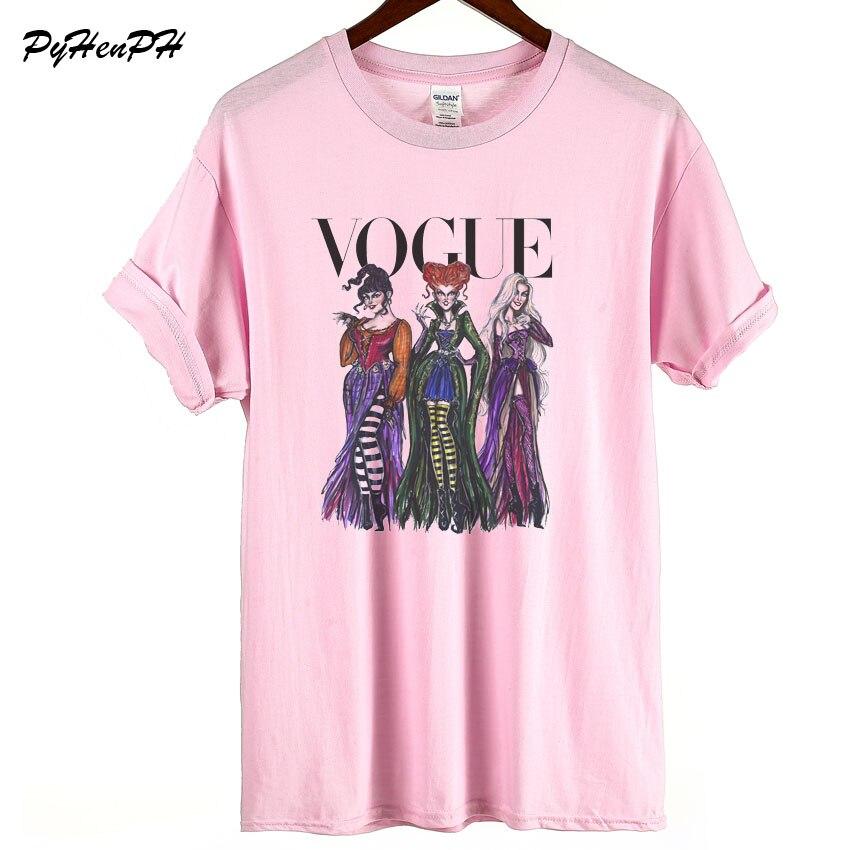 Vogue Hocus Pocus Print T shirt