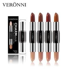 VERONNI Face Cosmetic 2 in 1 Highlight Contour Concealer 4 Colors Contours Makeup Cream