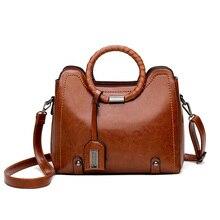 New Arrival Fashion Design 2018 Handbags Big Capacity Classic Simple Brand Soft Bags Vintage Casual