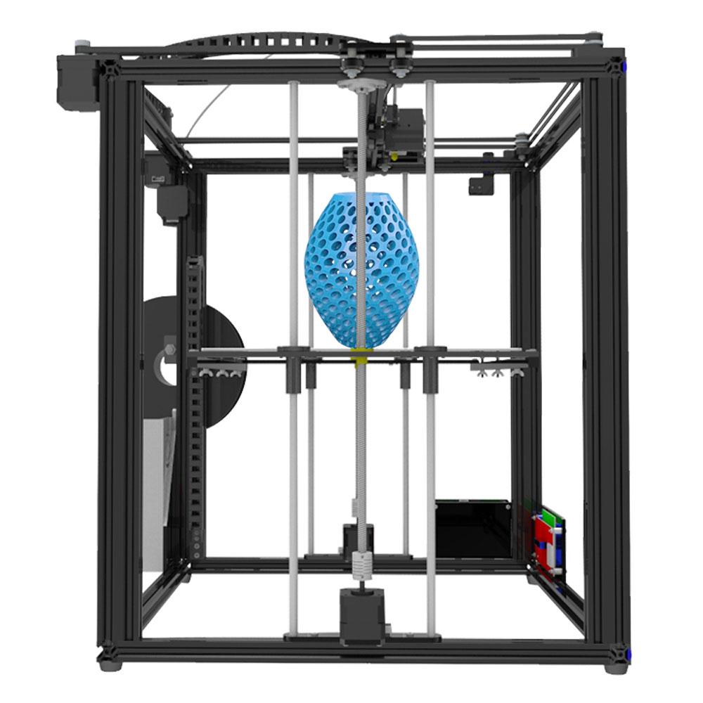 Tronxy Grande taille zone D'impression 3D imprimante X5S DIY kits en aluminium profil joint 12864 LCD contrôleur bowden extrudeuse Grand heatbed plaque - 5