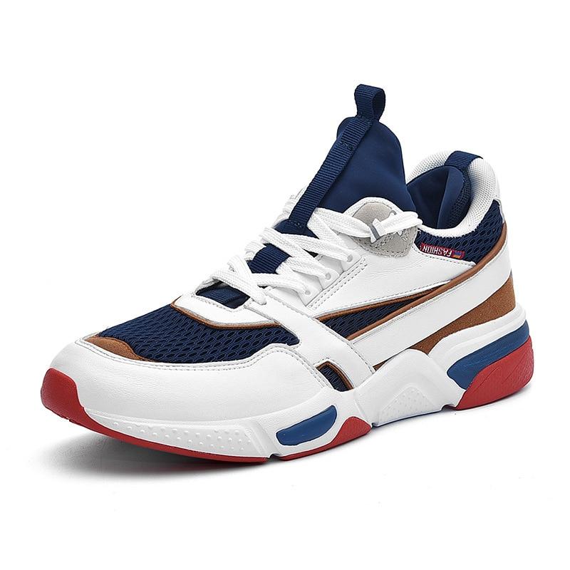 Nova Casuais Dos Homens Sapatos Tênis Zapatillas Sapatilhas Masculinos Ao De up Chegada Color Caminhada Ar The Hombre the Picture Corrida Lace Color 2019 Livre Calçados qItn5