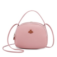 Fashion New Female Messenger Bag Portable Small Bee Purse Crossbody Mobile Phone