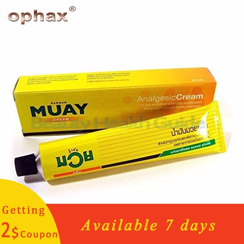 100g Thailand Namman Muay Analgesic Balm Medical Pain Relieving Cream Muscle Pain Rheumatoid Arthritis Ointment For Joint Pain