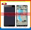 """Высокое Качество 5.7 """"Для Nokia Microsoft Lumia 950XL Жк-Дисплей С Сенсорным Экраном Дигитайзер Ассамблеи в Комплекте С Рамкой Код Отслеживания"""