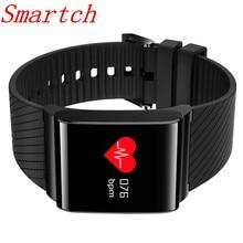 Smartch X9 Pro Цвет Экран умный Браслет Presión arterial кислорода сердечного ритма Monitores браслет вызова SMS оповещения для iOS и Android