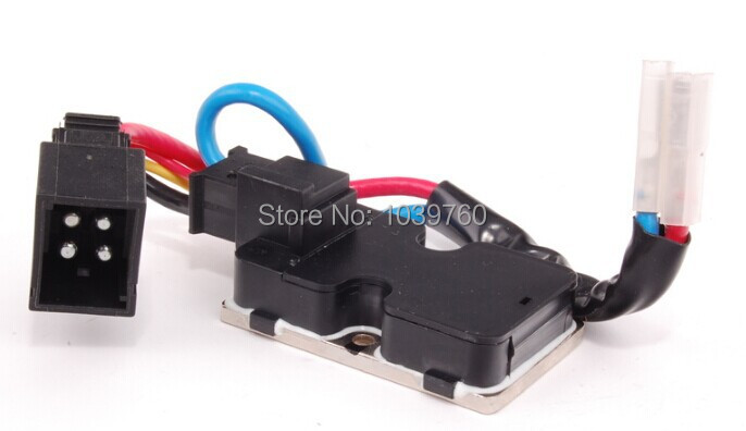 Free shipping wholesale new AC Blower Heater Fan Resistor Regulator for <font><b>Mercedes</b></font> <font><b>Benz</b></font> <font><b>W140</b></font> CL500 S320 S420 1408218351 image