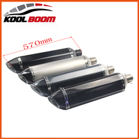 Bs600 Gw250 Z750 Z800 Exhaust Pipe Ktm Big Size 570mm Long Moto Escape Db Killer Motorcycle