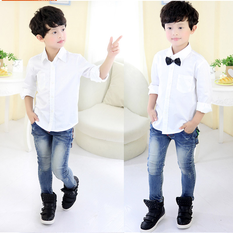 Make him look cool and handsome with his next door boy outfit.