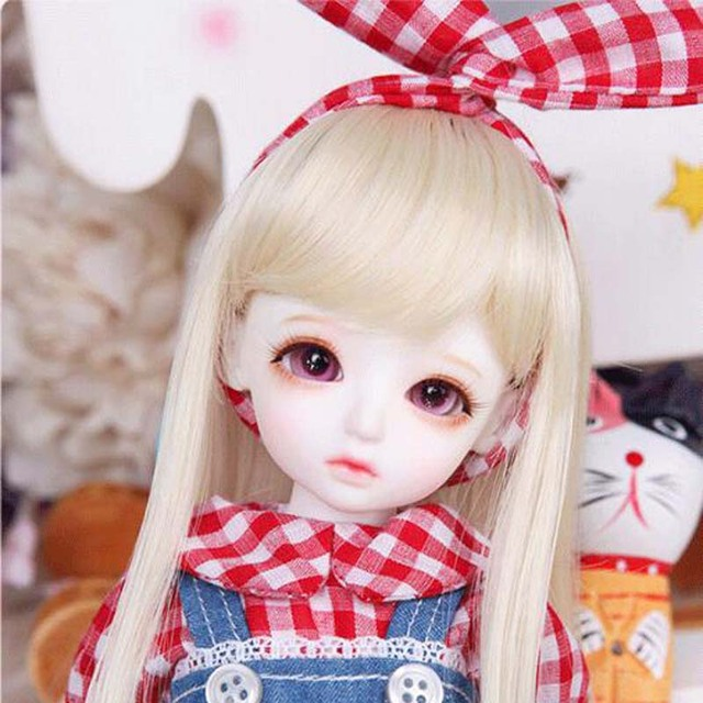 1/6 BJD Doll BJD/SD Honey Delf Hanaels Lovely Doll With Eyes For Baby Girl Birthday Gift