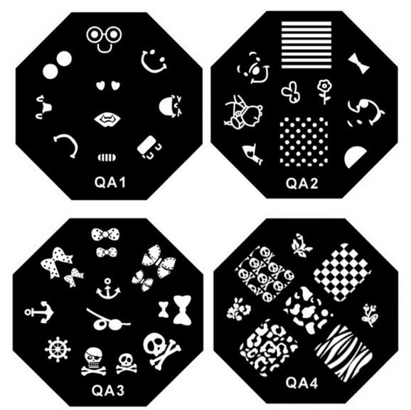 1 30 series diy nail art plates