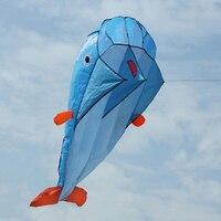 Huge 3D Dolphin Kite Đồ Chơi Ngoài Trời Cho Trẻ Em Trẻ Em Diều Diễn Viên Đóng Thế Bãi Biển lướt sóng Bay Diều Dễ Dàng để Bay Diều Bay Cho Trẻ Em quà tặng