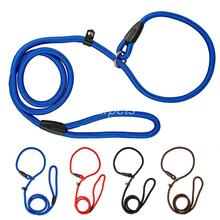 Brand New Nylon Dog Leash Training Dog P Leash Lead Strap Collar 4 Colors&3 Sizes