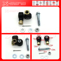 Right & Left Tie Rod End Kit for Polaris Sportsman 500 HO 2006 2007 2008 2009 2010 2011 2012 ATV Quad Dirt Pit Bike