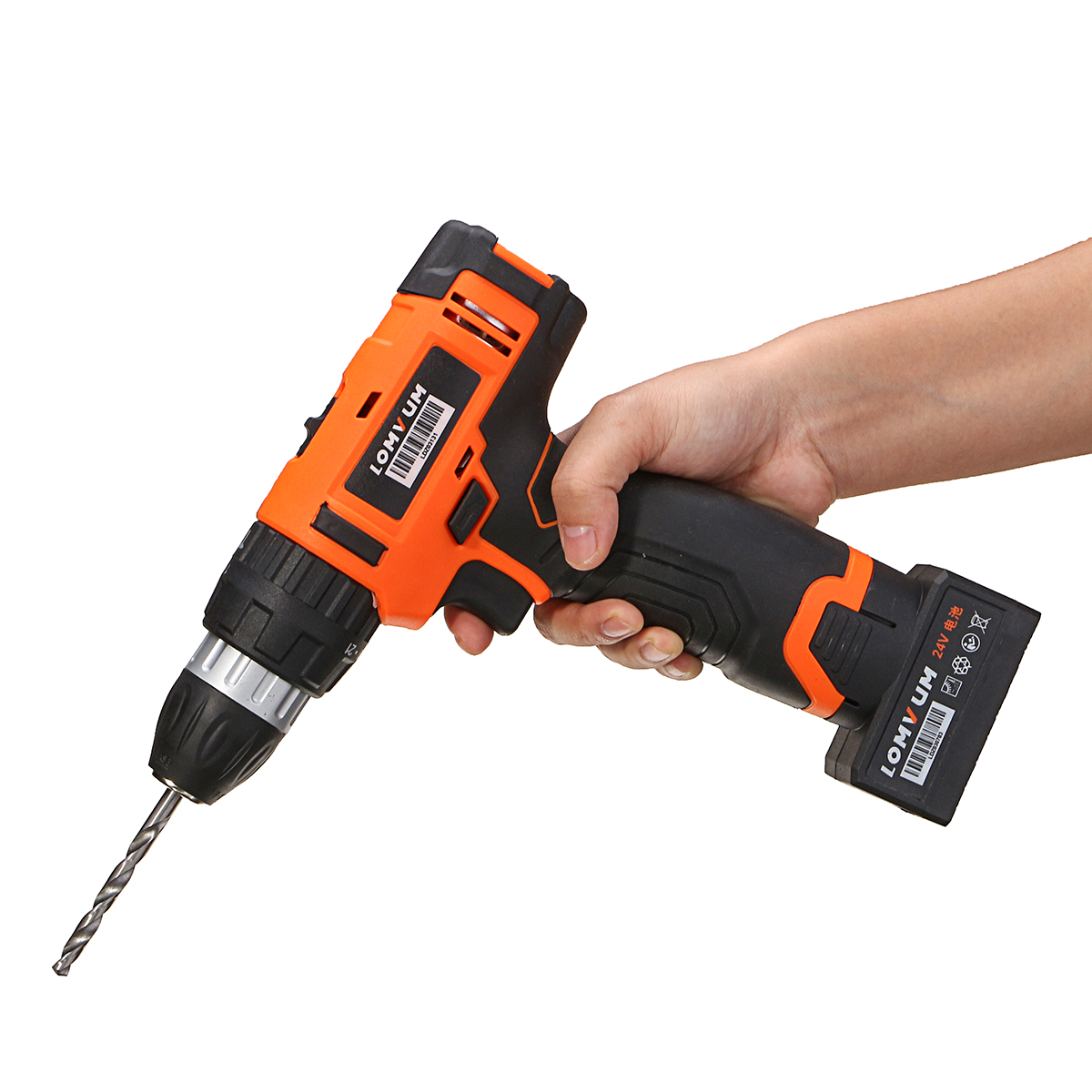 24V Electric hammer Electric Wrench Impact Socket Wrench drill function Cordless hand drill Screwdriver Power Tools цена