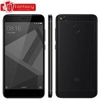 Original Xiaomi Redmi 4X 4 X 2GB 16GB Mobile Phone 4100mAh Snapdragon 435 Octa Core Fingerprint ID FDD LTE 4G 5