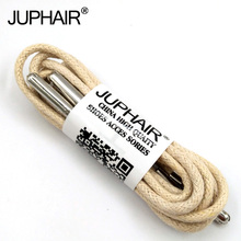 1-12 Pair Beeige High Quality Unise Laces Waxed Round Shoelaces Sneaker Solid Polyester Twisted Boots Shoes Metal Head Shoelaces недорого