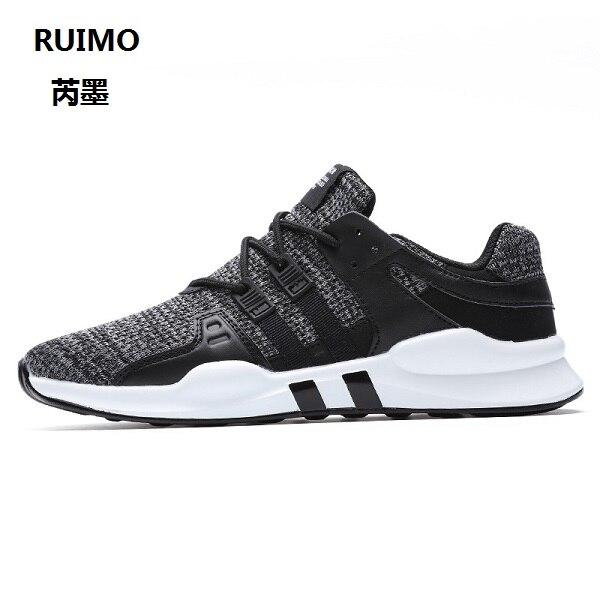 Ruimo Обувь Бег Для мужчин Новое поступление Бег Обувь дышащие весенние кроссовки Обувь для Для мужчин шнуровка ленивый мужской Обувь Бег
