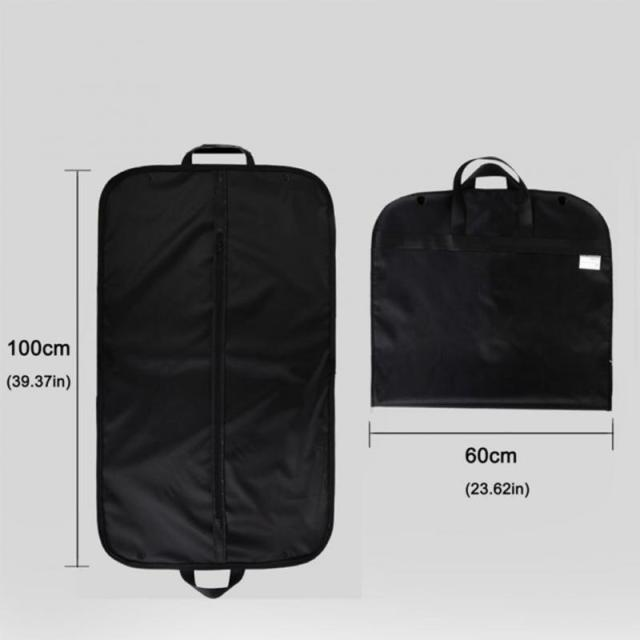 Professional Garment Dust Bag Cover Suit Dress Storage Non-woven Breathable Dust Cover Protector Travel Carrier Wholesales