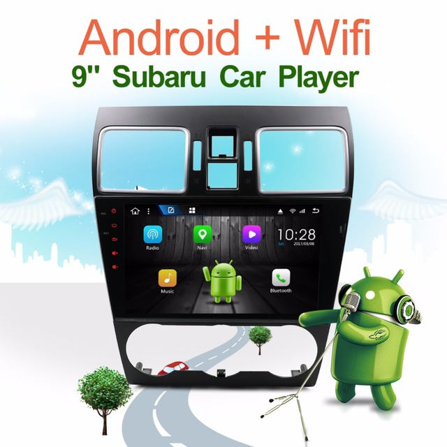 Boison 2 Din Quad-Core Android 7.1 Car DVD Multimedia Radio For Subaru Forester XV WRX 2013 2014 2015 2016 2017 Bluetooth