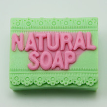 Big Block natural soap mold silicone alphabet art craft making molds