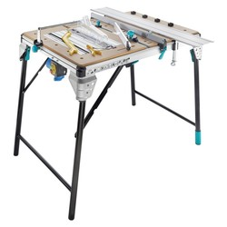 WOLFCRAFT 6902000-MASTER cut 2500s tables serrar precision and working station with safety toggle switch