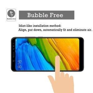 Image 4 - [2 pacco] HD Dello Schermo Temperato di Protezione di Vetro Redmi Nota 5 Globale/Redmi Nota 5 Pro Protezione Dello Schermo vetro Xiaomi Redmi Nota 5