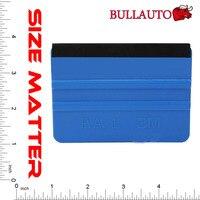 50pcs 3M Squeegee Car Vinyl Film Wrapping Tools Blue Scraper