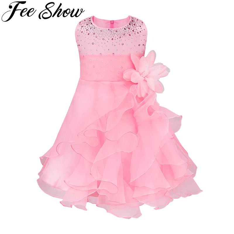 Baby Girl Dress Summer 2017 Princess Kids Clothes Wedding Party Costume for Children 1 Years Baby Girls Birthday Dresses Vestido 2017 new girls dresses for party and wedding baby girl princess dress costume vestido children clothing black white 2t 3t 4t 5t