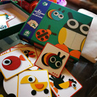 3D Puzzles Wooden Jigsaw DIY Animal 3D Puzzle Games Borad Eduactional Toys For Kids For Children Montessori Teaching Aids