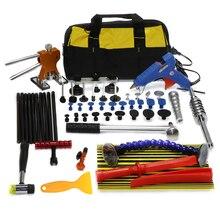 PDR Tools slide hammer Paintless Dent Repair PDR Kit line board T-bar Hammer Hail Removal dent lifter Glue Gun puller tabs