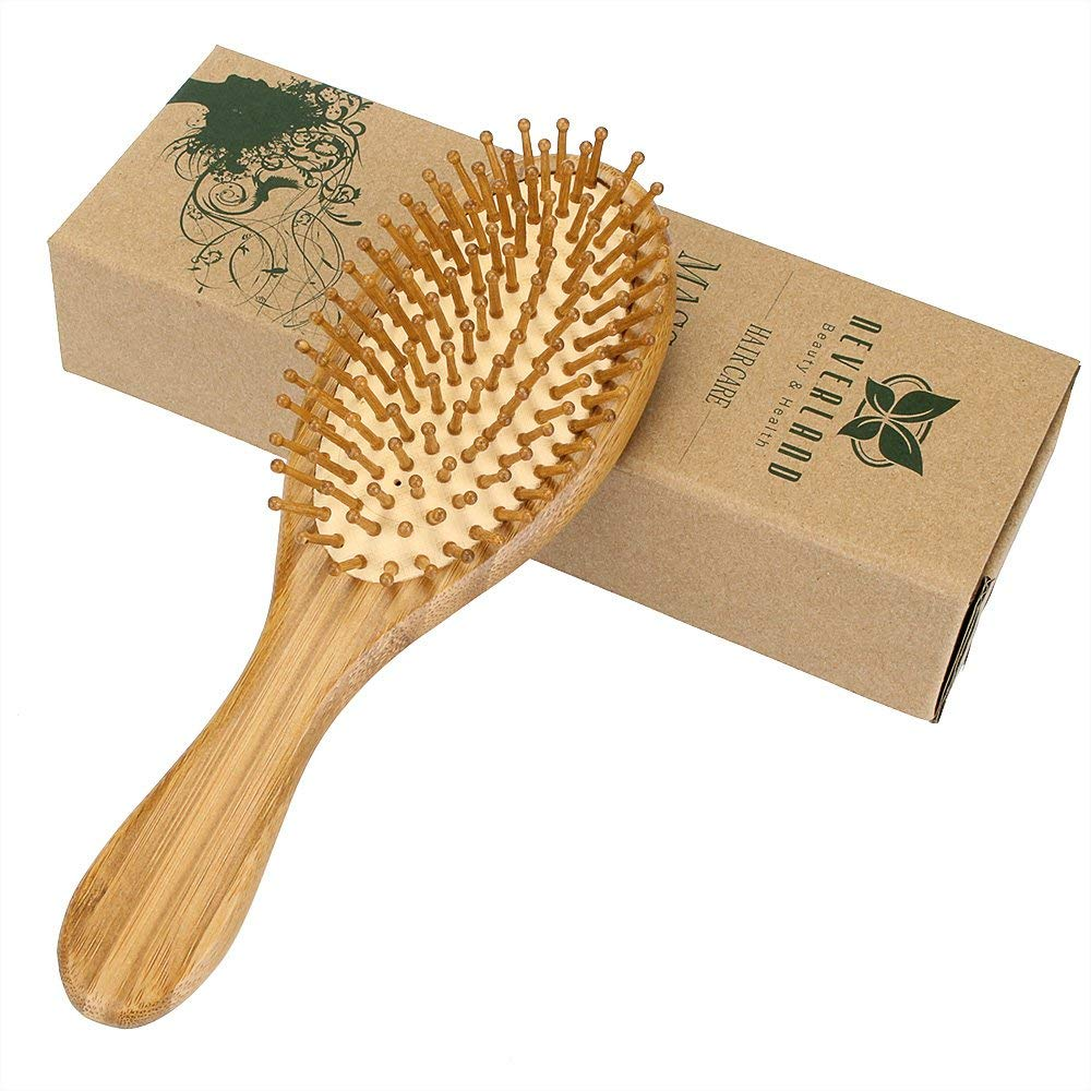 Health Care Wood Massage Comb Hairbrush With Box Hairdressing Tangle Brush Comb For Women Hair Scalp Combs Fast Shipping