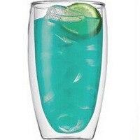 Doble pared copa copa doble capa de la moda botella de jugo de leche 600 ML para party club Pub bar de té del envío gratis F-35