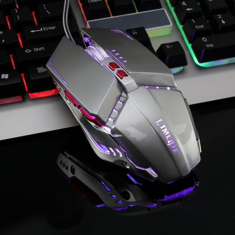 Gaming Mouse 7200 Dpi Optical Cable 7 Buttons USB Gamer Mouse PC,Notebook,Laptop