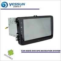 YESSUN Car Android Navigation Radio CD DVD Player GPS Navi BT HD Screen Multimedia For Volkswagen VW Amarok / Bettle / Caddy