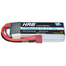 HRB 3S RC lipo battery 11 1v 2200mAh 30C max 60C For Walkera Runner 250 FPV