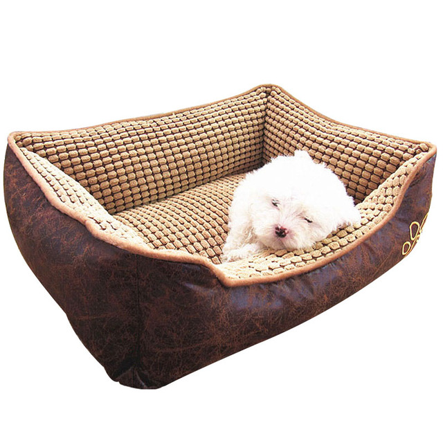 Impermeabile In Pelle di Cane Letto Lavabile PP Cotone Imbottito Pet Puppy Cuscino Per Cani di Taglia Grande