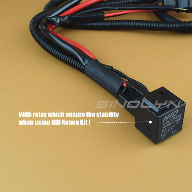 Online Shop Sinolyn 12V 35W/55W 9005 9006 H11 HID Xenon Bulbs Relay