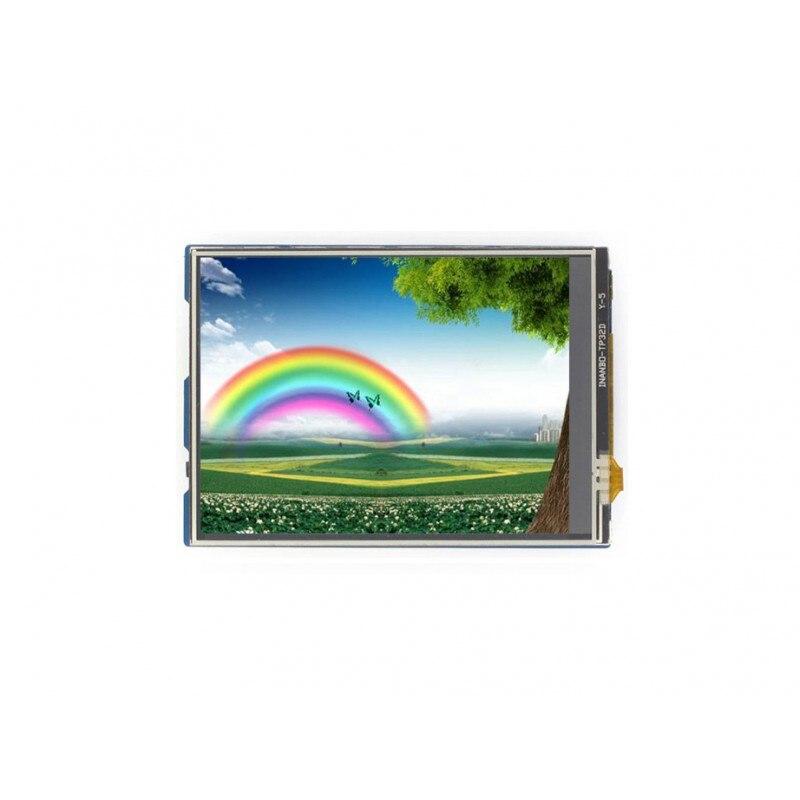 3.2นิ้วสัมผัสจอแอลซีดีโล่สำหรับA Rduinoหน้าจอสัมผัสทานTFT LCDมาตรฐานA Rduinoอินเตอร์