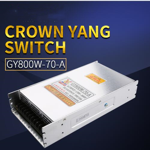 Switching Power Supply 800W 70V 12A driver switch cnc router parts Factory Supplier