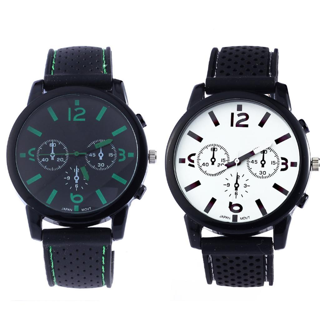 Fanala Watch Men Relogio Masculino Casual Silicone Band Sporting Fashion Wrist Quartz Men Watches Excellent Quality Men's Watches Watches