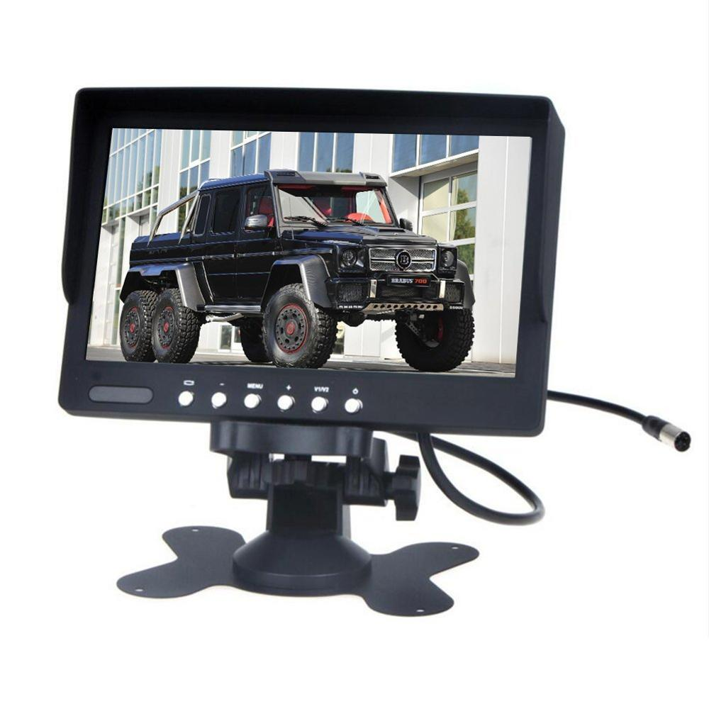 7 Inch LCD Screen Display Car Monitor Portable Color Rear View Screen In Car Support Car