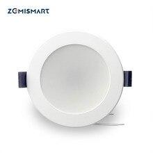 Zemismart مصباح Led للإضاءة الساقطة ، 3.5 بوصة ، 10 واط ، WiFi ، RGBCW ، التحكم الصوتي ، بواسطة Alexa ، Echo ، Google Home Assistant ، أتمتة المنزل