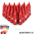 Blox Wheel Nuts 20Pcs M12X1.5 L=50MM Extended Tuner Wheels Rims Lug Nuts With Spikes Spear tip Jdm BLOX750DJT-15-FS