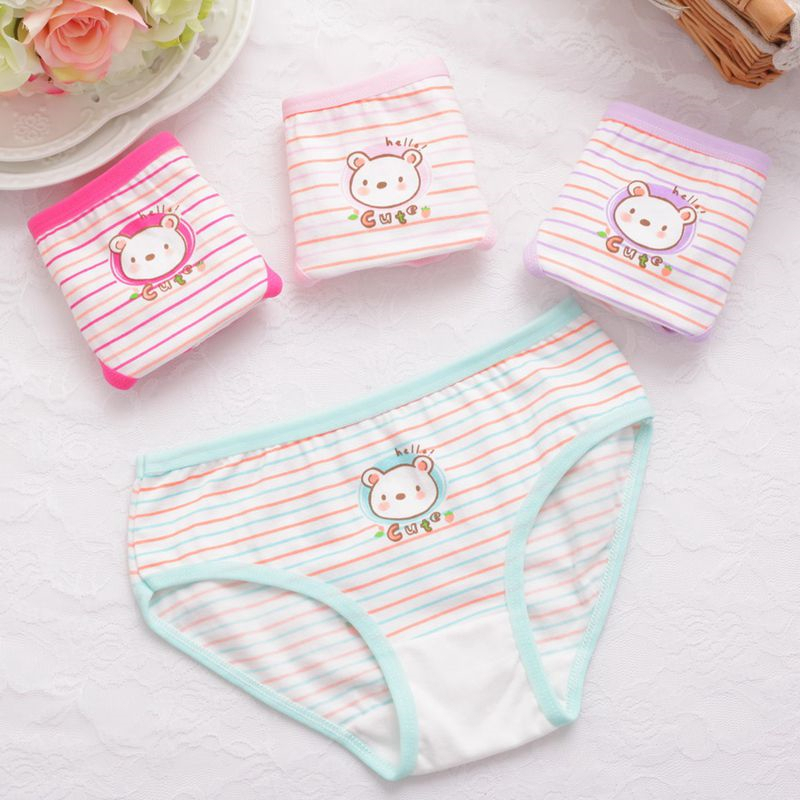 6pcs//lot Baby Girl Underwear Kids Child/'s Panties For Shorts For Nurseries Child
