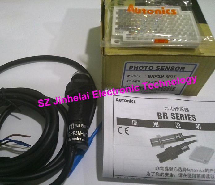 цена на New and original Autonics BRP3M-MDT-P PHOTO SENSOR Photoelectric switch DC12-24V
