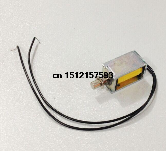 цена на DC 9V 120g/2mm Open Frame Actuator Linear Pull Solenoid Electromagnet
