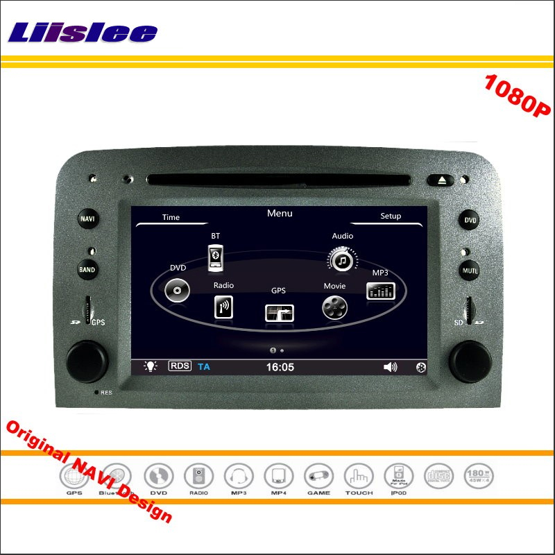 Liislee для Alfa Romeo 147/GT 2005 стерео Радио CD dvd плеер GPS навигации 1080 P HD Экран системы оригинальный Navi Дизайн